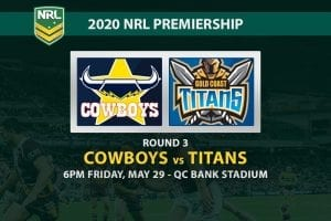 Cowboys vs Titans NRL betting tips