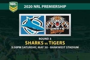 Sharks vs Tigers NRL betting tips