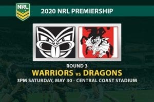 Warriors vs Dragons NRL betting tips