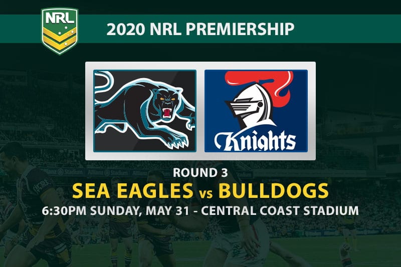 Sea Eagles vs Bulldogs NRL betting tips