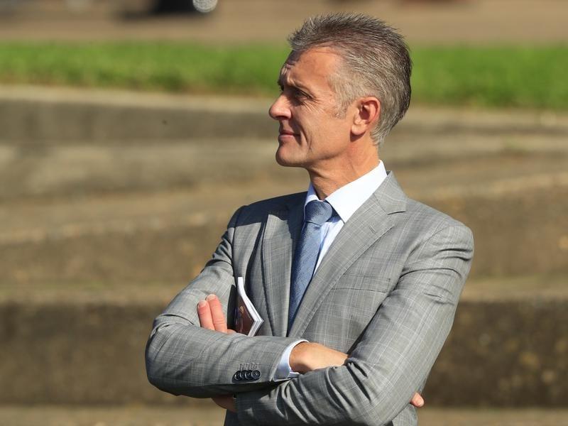 Sydney racehorse trainer Mark Newnham.