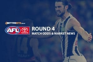 Latest AFL odds and betting news