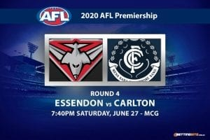 Bombers vs Blues AFL betting tips
