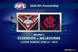 Bombers vs Demons AFL betting tips