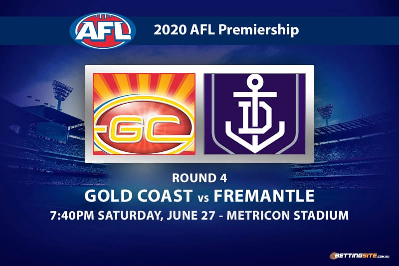 Suns vs Dockers AFL betting tips
