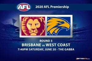 Lions vs Eagles AFL betting tips