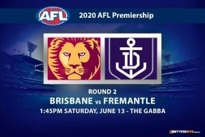 Lions vs Dockers AFL betting tips