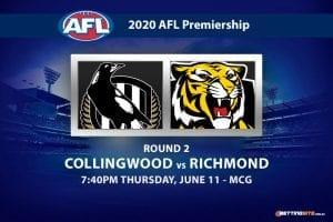 Magpies vs Tigers AFL betting tips
