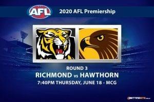 Tigers vs Hawks AFL betting tips