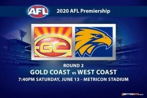 Suns vs Eagles AFL betting tips