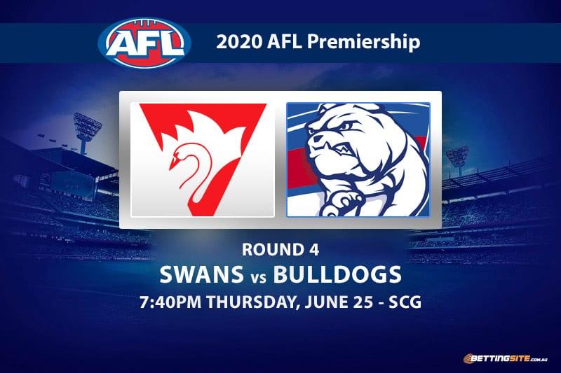 Swans vs Bulldogs AFL betting tips