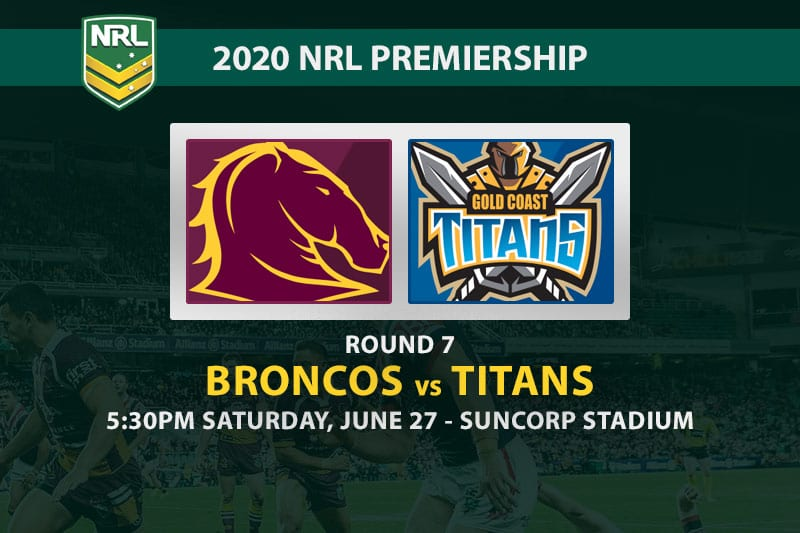 Broncos vs Titans NRL betting tips