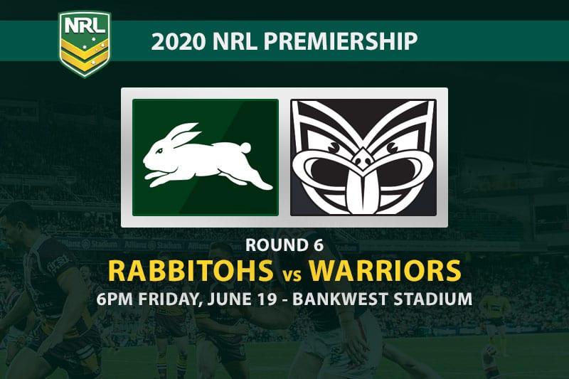 South Sydney Rabbitohs vs New Zealand Warriors