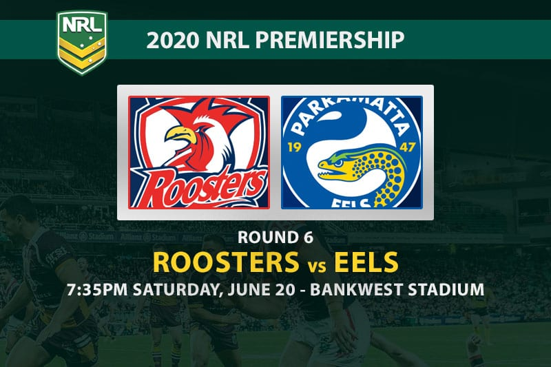 Roosters vs Eels NRL betting tips