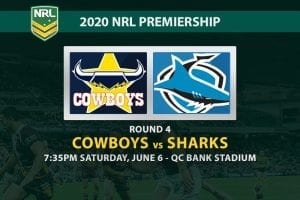 North Queensland Cowboys vs Cronulla Sharks