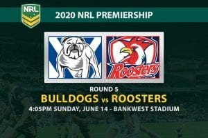 Bulldogs vs Roosters NRL betting tips