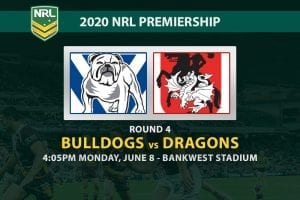 Canterbury Bulldogs vs St George Illawarra Dragons