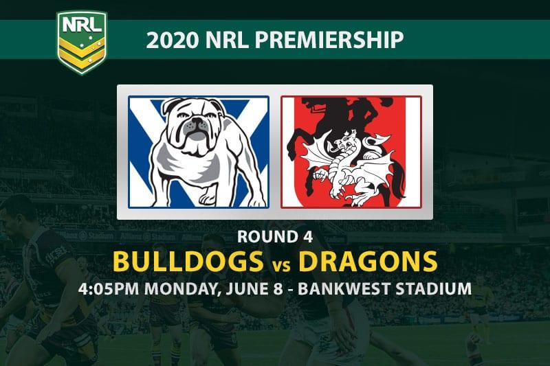 Canterbury Bulldogs vs St George Illawarra Dragons