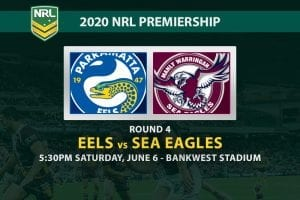 Eels vs Sea Eagles NRL betting tips