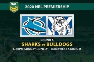 Sharks vs Bulldogs NRL betting tips