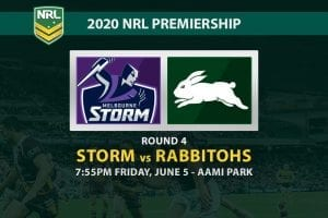 Melbourne Storm vs South Sydney Rabbitohs