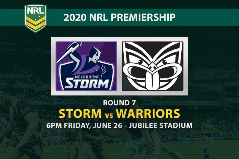 Storm vs Warriors NRL betting tips