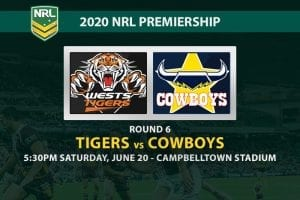 Tigers vs Cowboys NRL betting tips