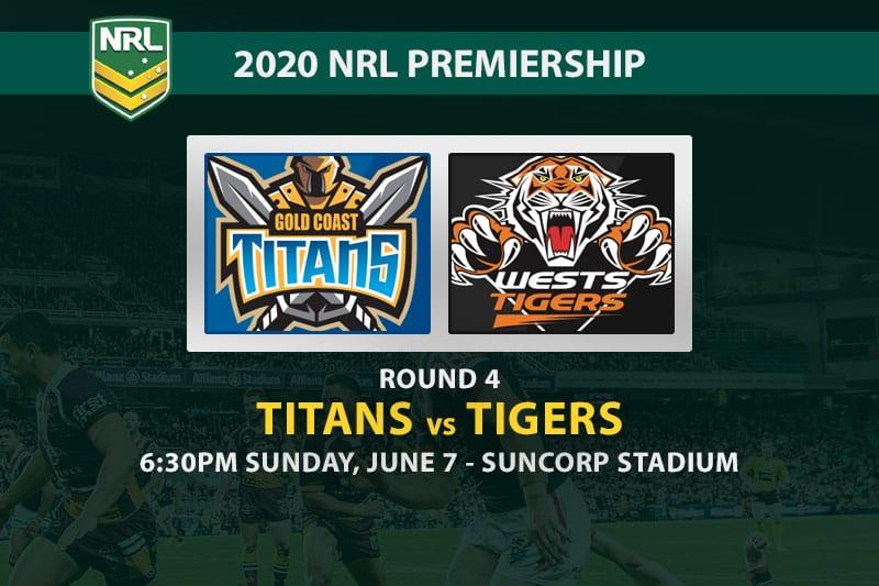 Titans vs Tigers NRL betting tips