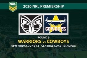 New Zealand Warriors vs North Queensland Cowboys