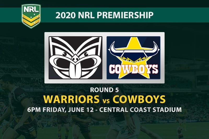 New Zealand Warriors vs North Queensland Cowboys