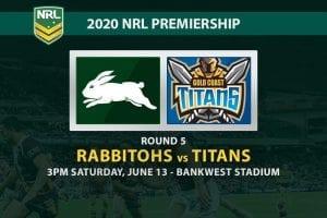 South Sydney Rabbitohs vs Gold Coast Titans