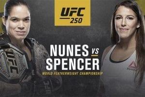 Nunes vs Spencer UFC 250 betting tips