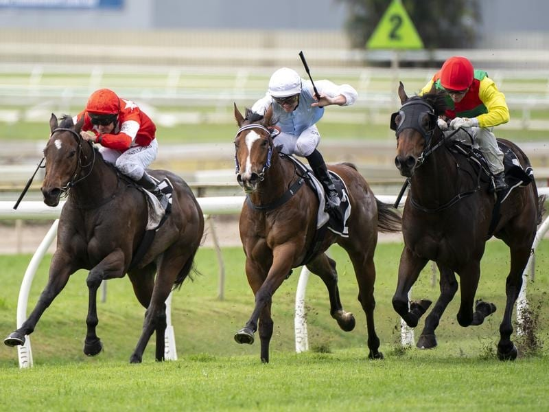 Feet Dove claims tight win at Doomben