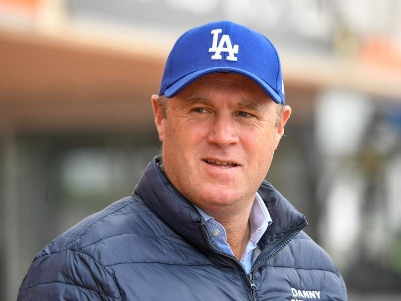 Trainer Danny O'Brien.