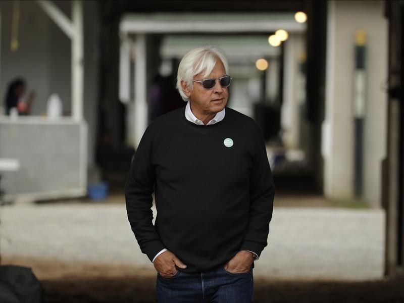 Leading US thoroughbred trainer Bob Baffert.