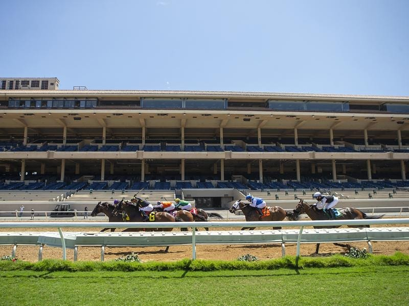 A COVID-19 outbreak among jockeys has put a stop to racing at Del Mar.