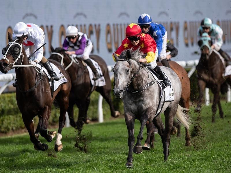 Paths Of Glory wins at Randwick.