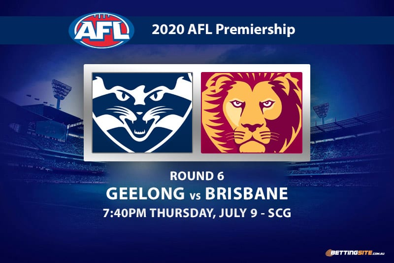 Geelong Cats Vs Brisbane Lions Betting Tips Afl 2020 Round 6