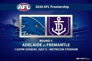 Crows vs Dockers AFL betting tips