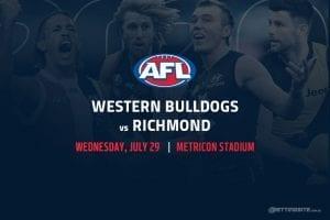 Bulldogs vs Tigers AFL betting tips