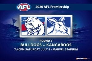Bulldogs vs Kangaroos AFL betting tips