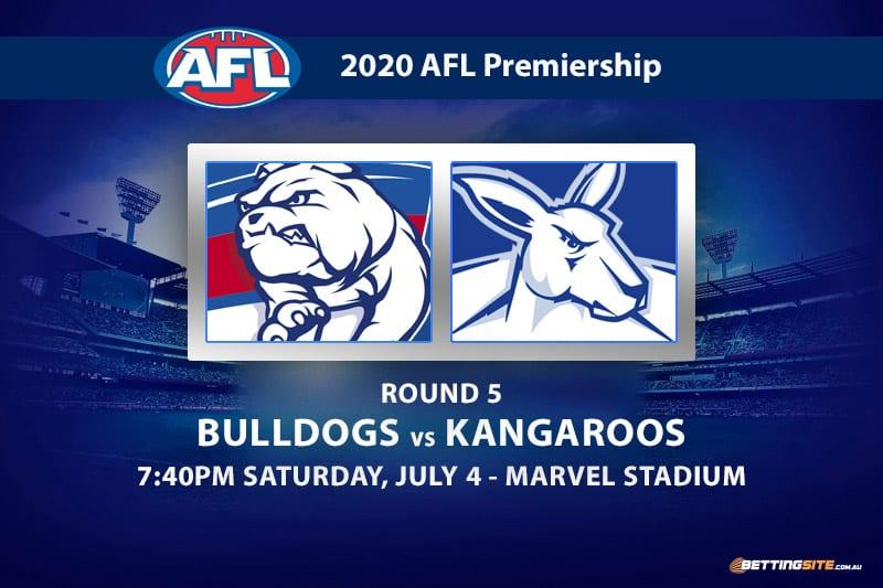 Bulldogs vs Kangaroos AFL betting tips