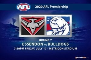 Bombers vs Bulldogs AFL betting tips
