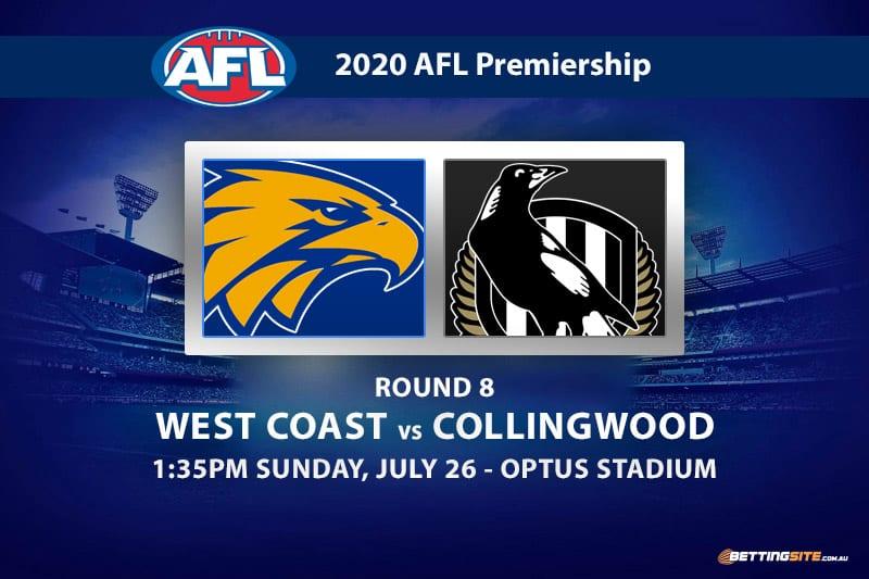 Eagles vs Magpies AFL betting tips