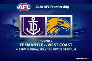 Dockers vs Eagles AFL betting tips