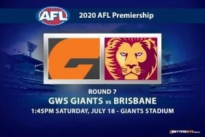 Giants vs Lions AFL betting tips