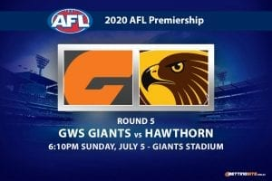 Giants vs Hawks AFL betting tips
