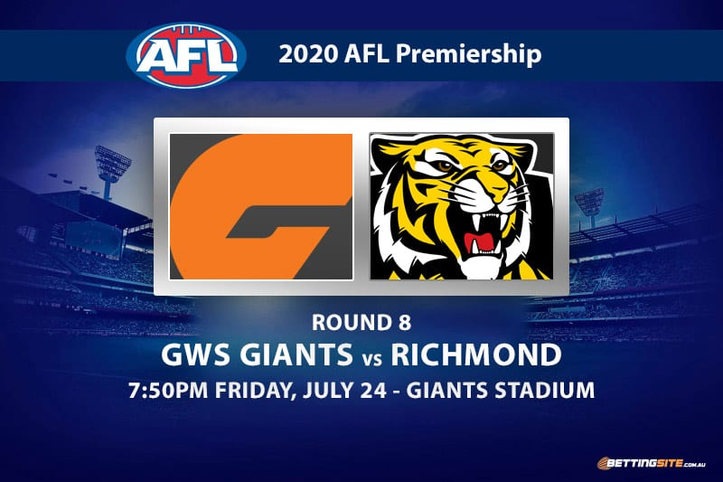 Giants vs Tigers AFL betting tips