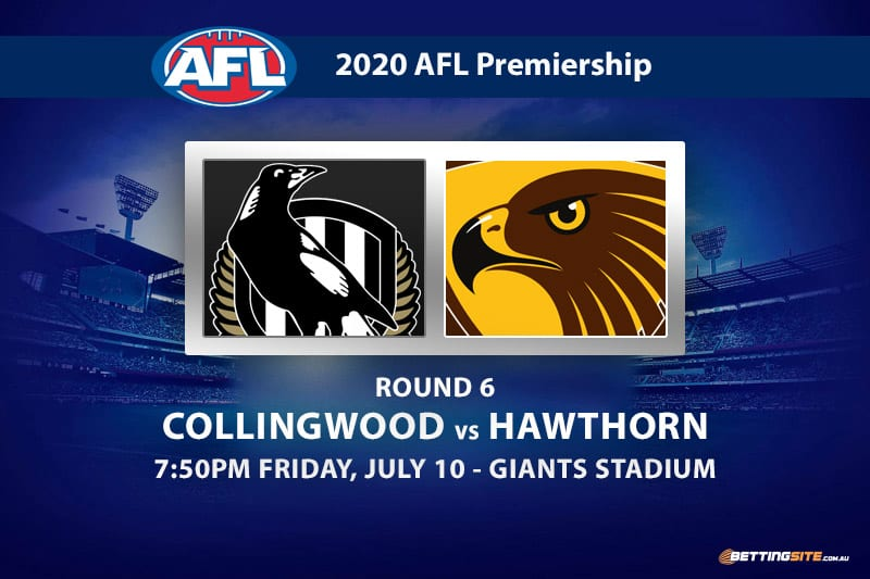 Magpies vs Hawks AFL betting tips