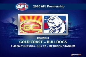 Suns vs Bulldogs AFL betting tips